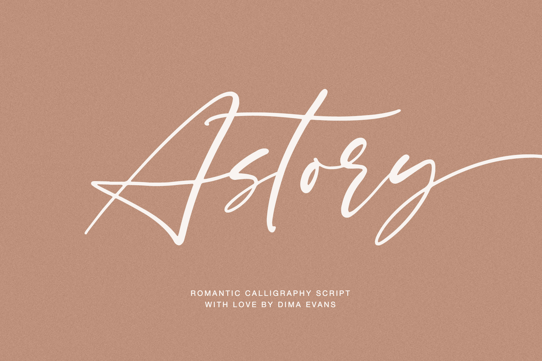 Astory // Romantic Script example image 1