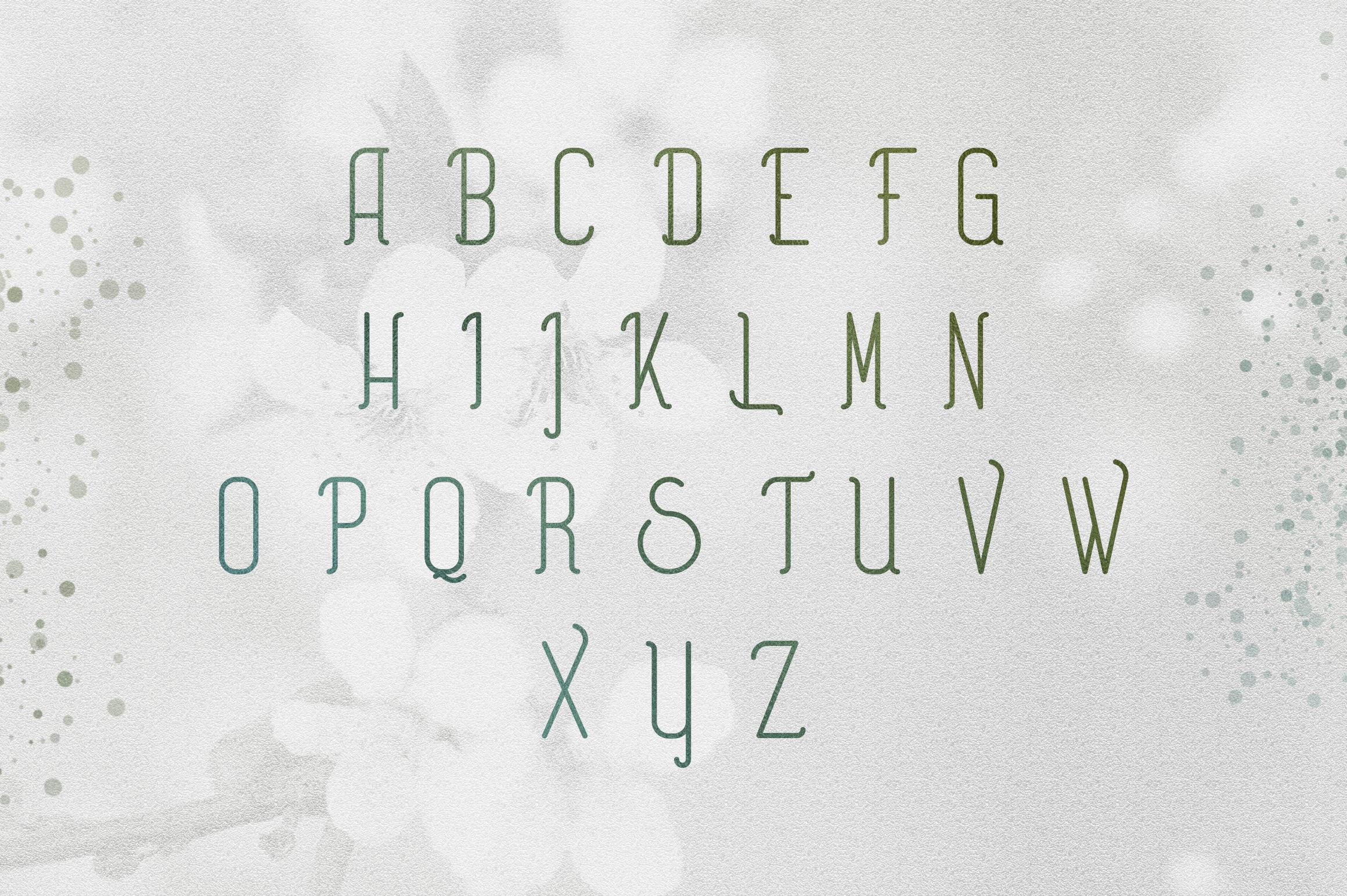 [Spring Vibes] Splendor Font example image 8