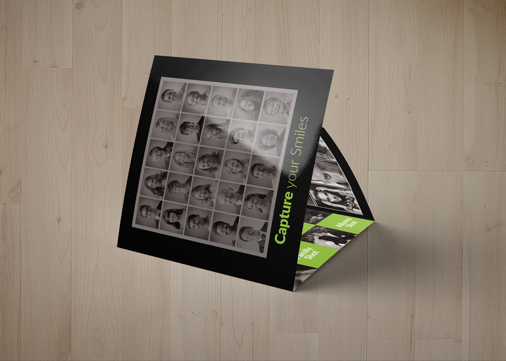 Photography Square Trifold Brochure example image 4