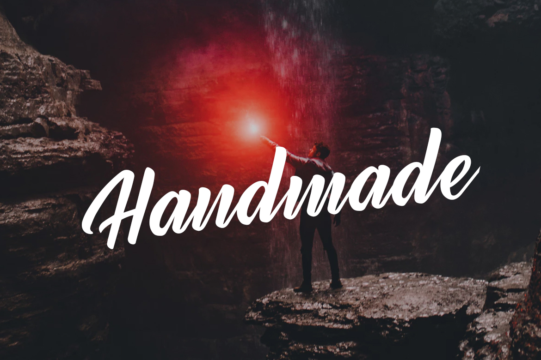 Rendang - Handmade Font example image 3