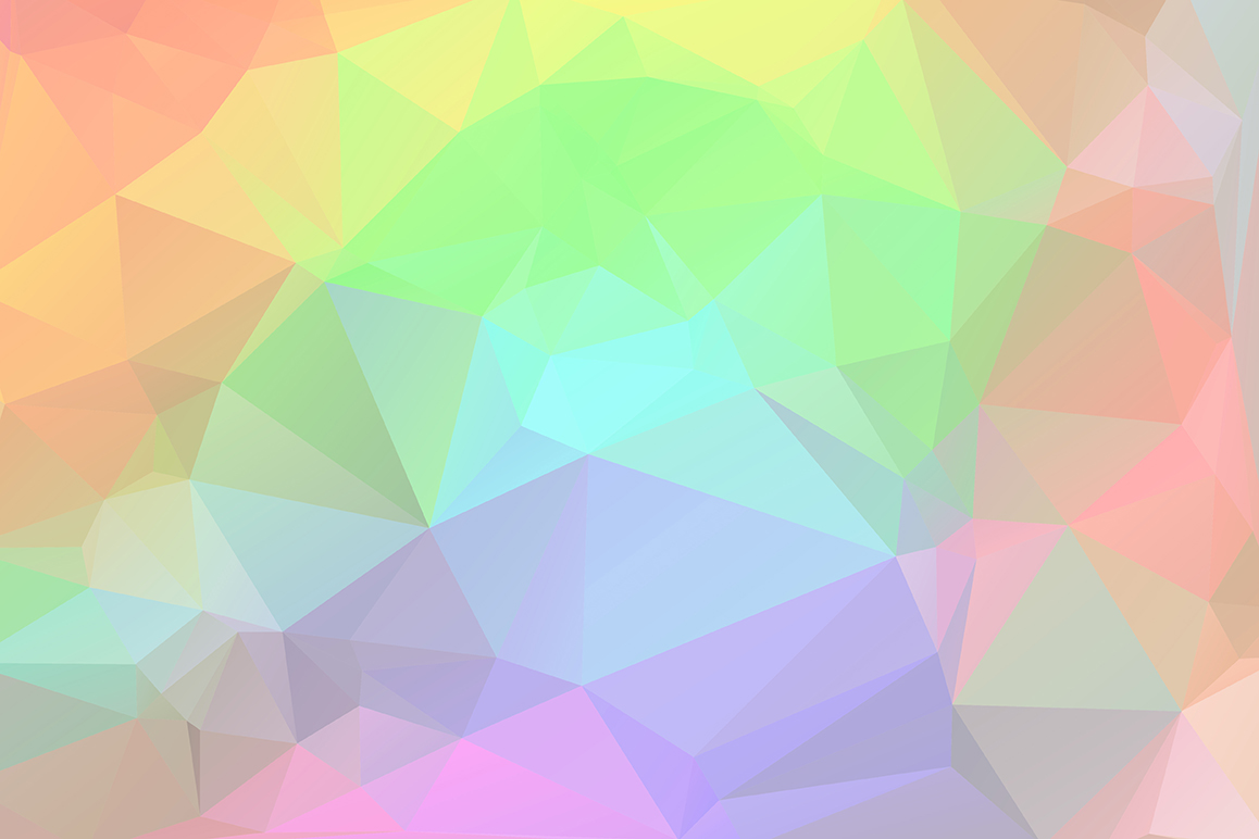 Polygon vector backgrounds set example image 8