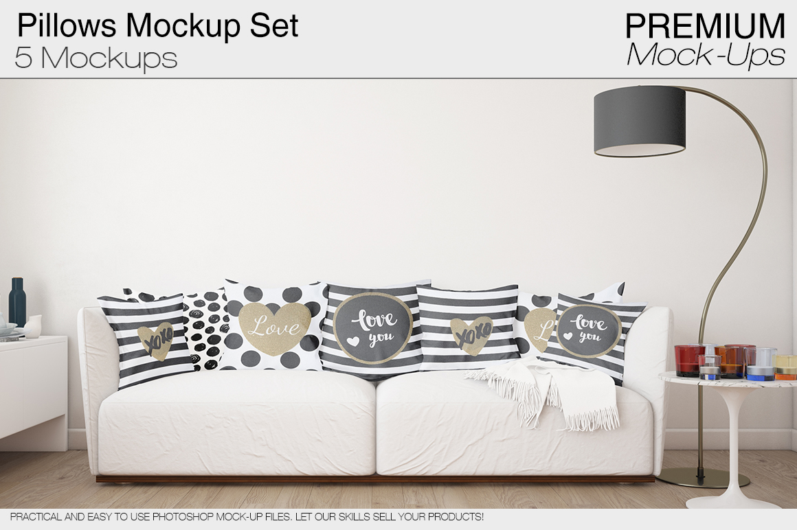 Pillow Mockup Set example image 1
