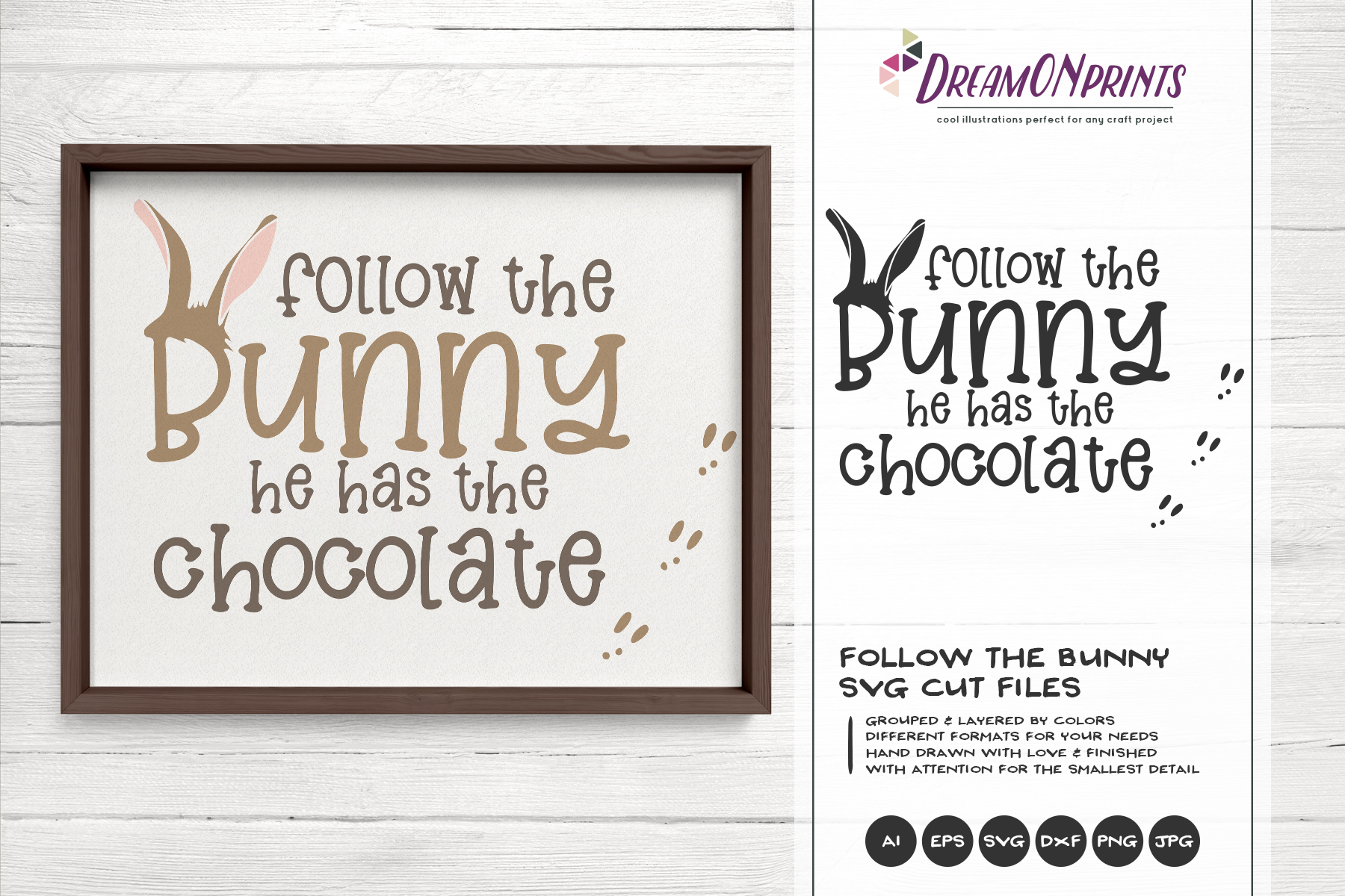 Easter SVG Bundle - The Funny Bunny Vector BUNDLE example image 14