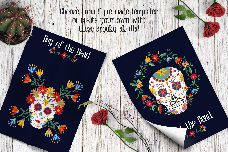 Dia de los Muertos Skull Collection example image 4