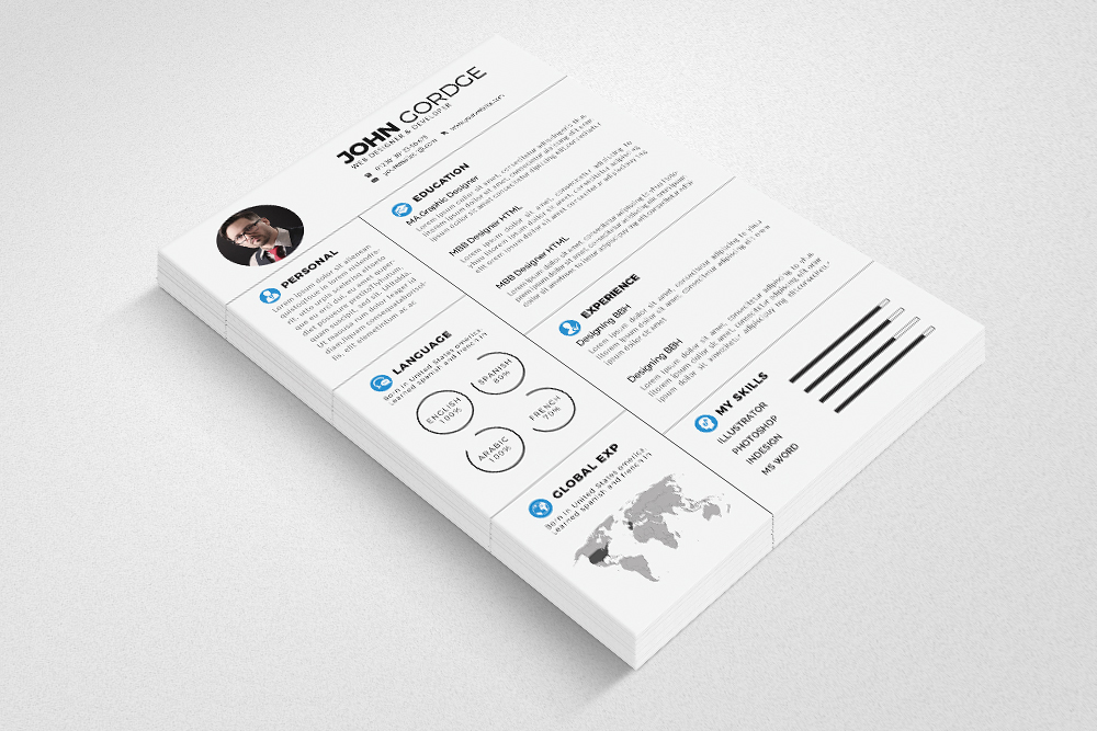 Resume Cv Templates example image 4