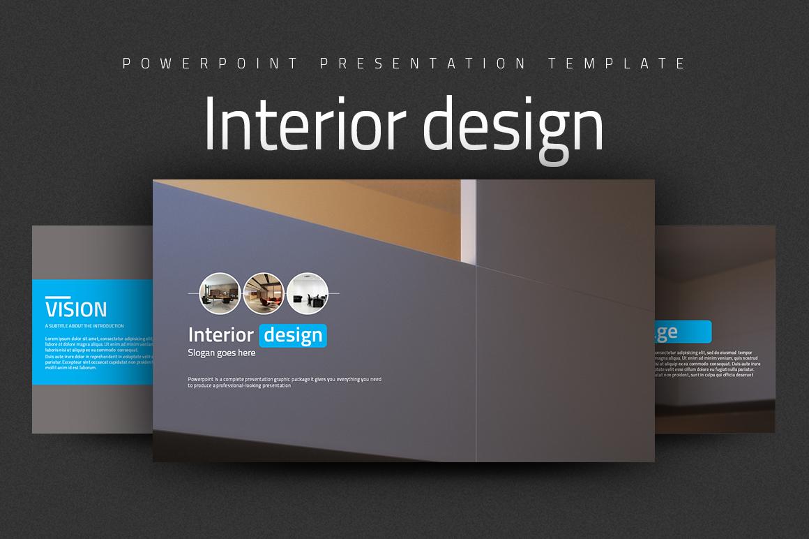 Interior Design Powerpoint  example image 1