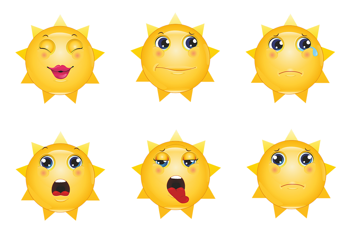 Emoticons Sun example image 8