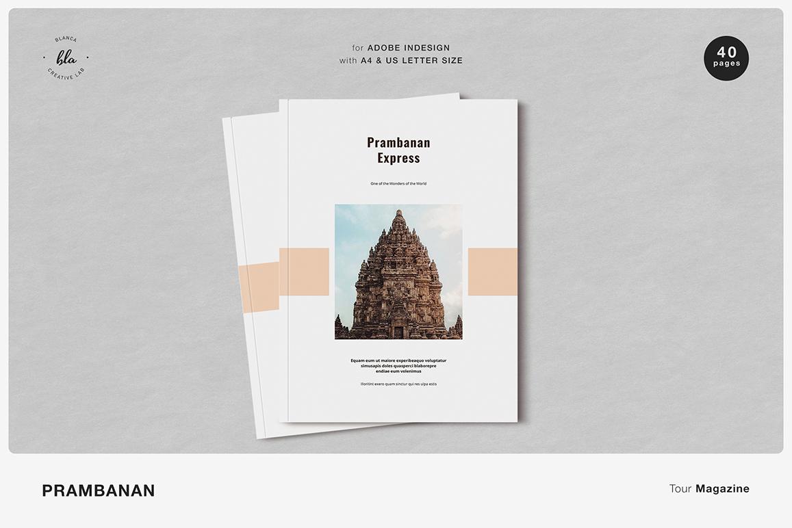 PRAMBANAN Tour Magazine example image 1