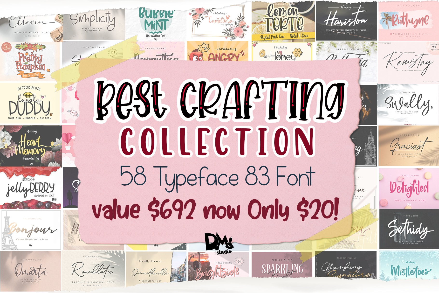 MEGA BEST CRAFTING COLLECTION BUNDLE!! example image 1
