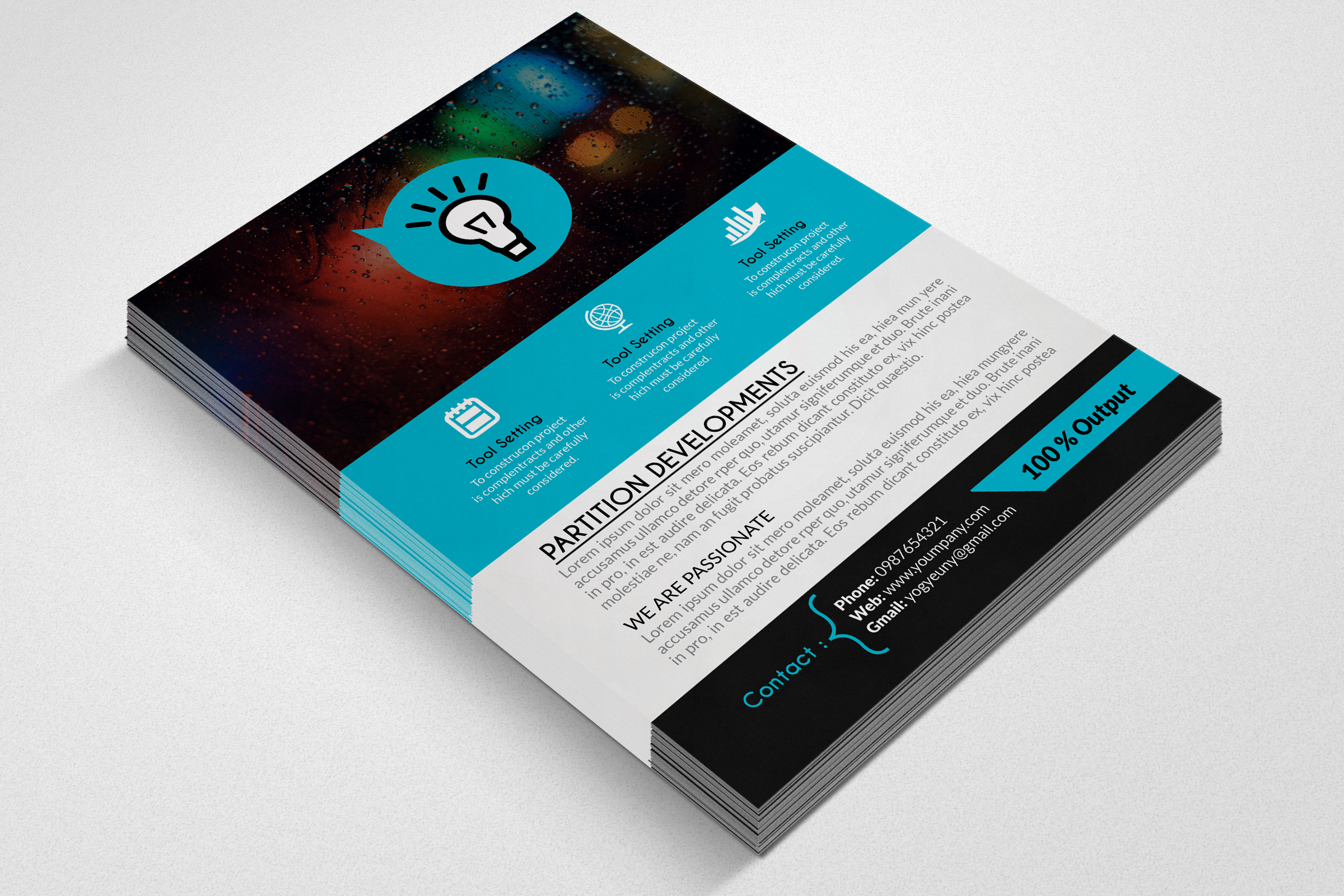 Business Good Idea Flyers example image 3