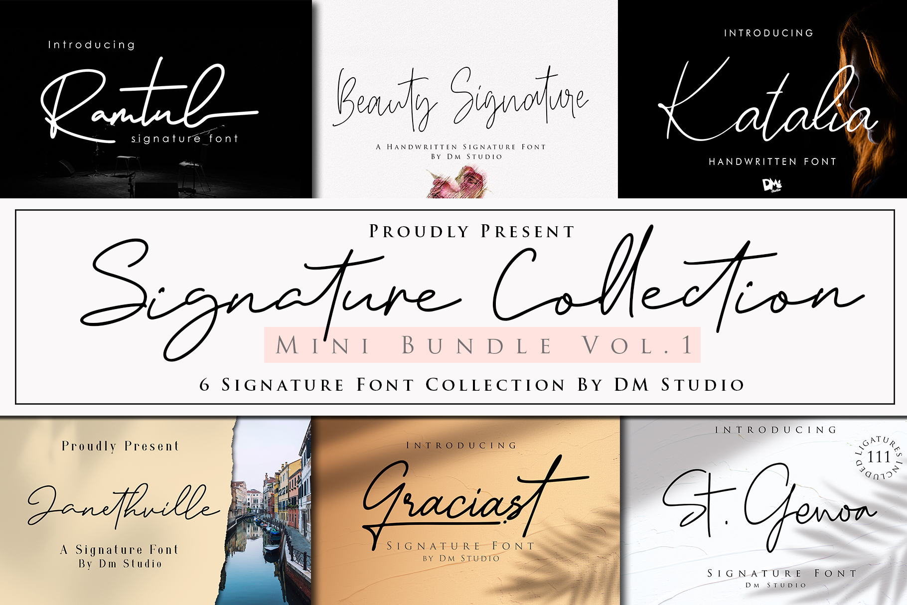 Signature Collection Mini Bundle Vol.1 example image 1