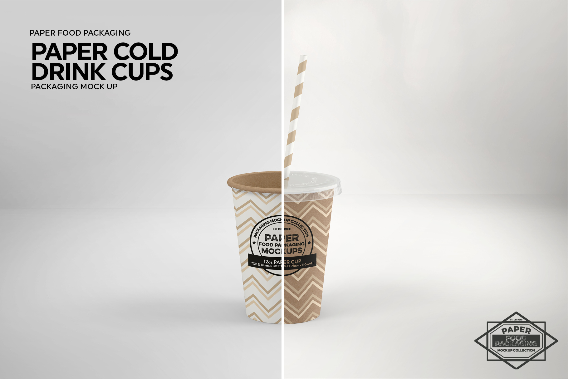 Paper Drink Cups Packaging Mockup example image 9