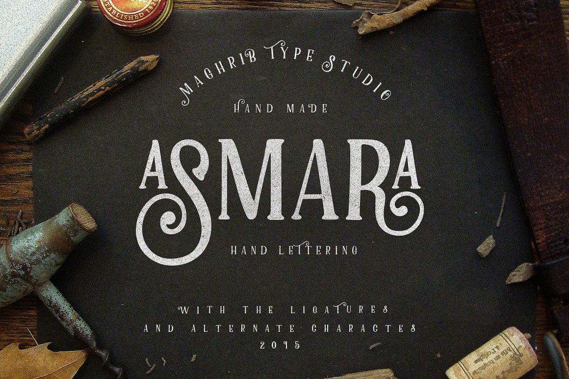 Asmara Type example image 2