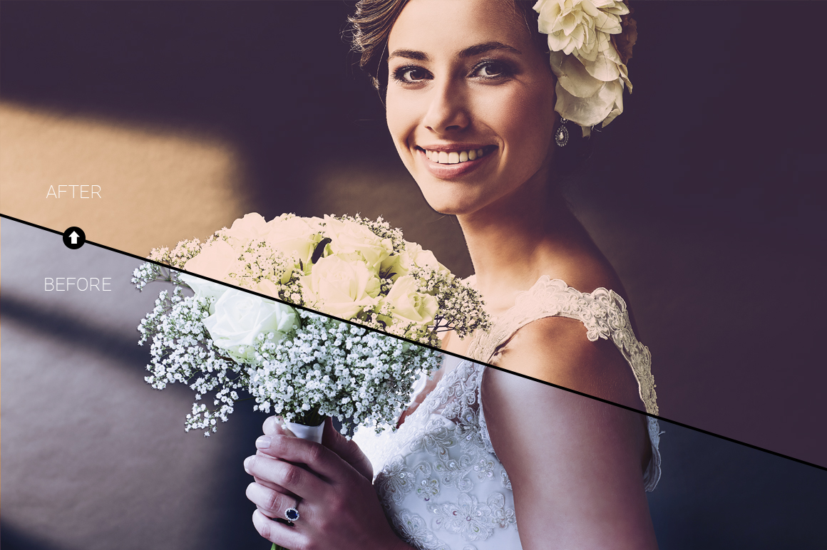 Wedding Day Lightroom Presets example image 5