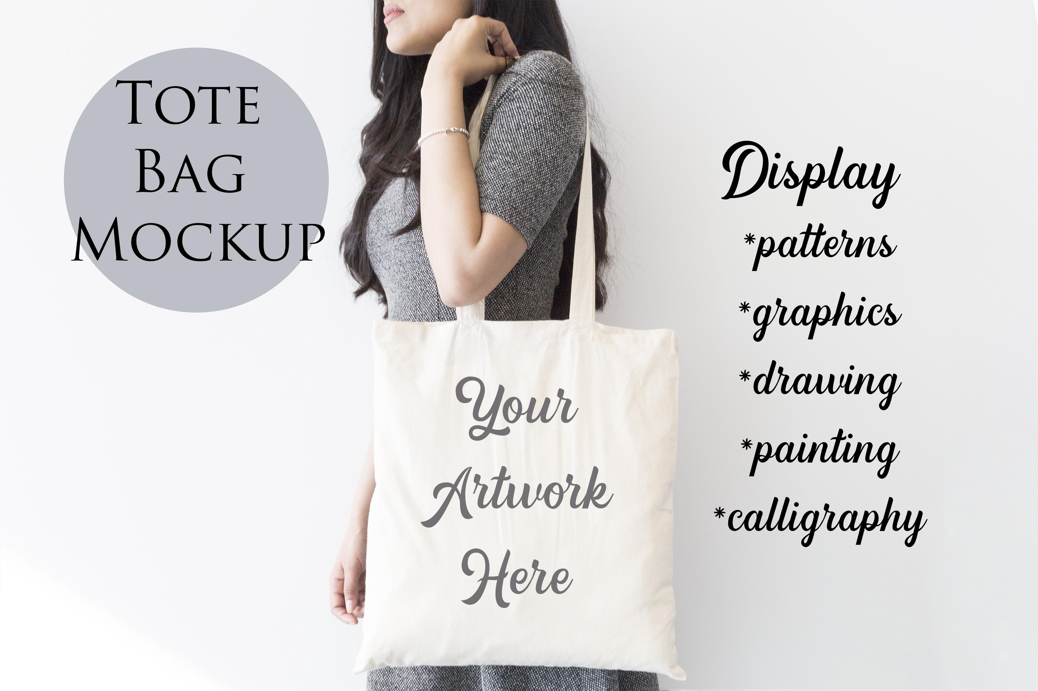 Tote Bag Mockup example image 3