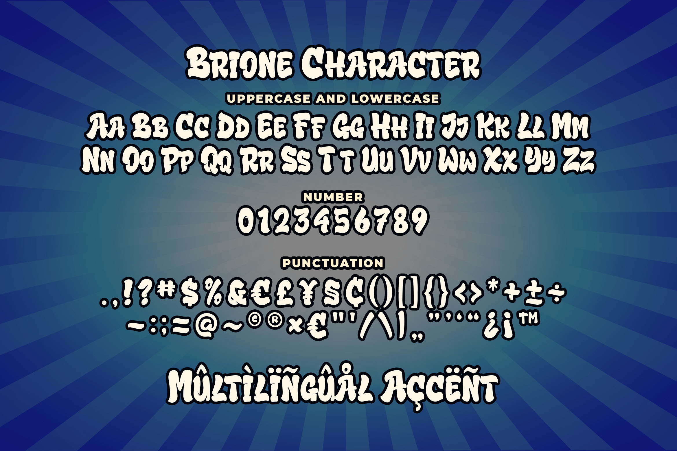 Brione - Playful Font example image 4