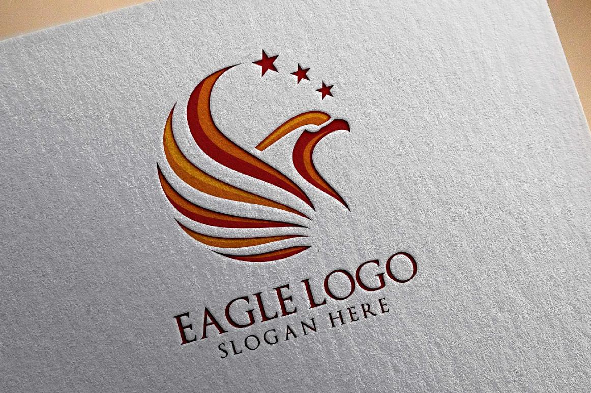 Eagle Star Logo Template example image 2