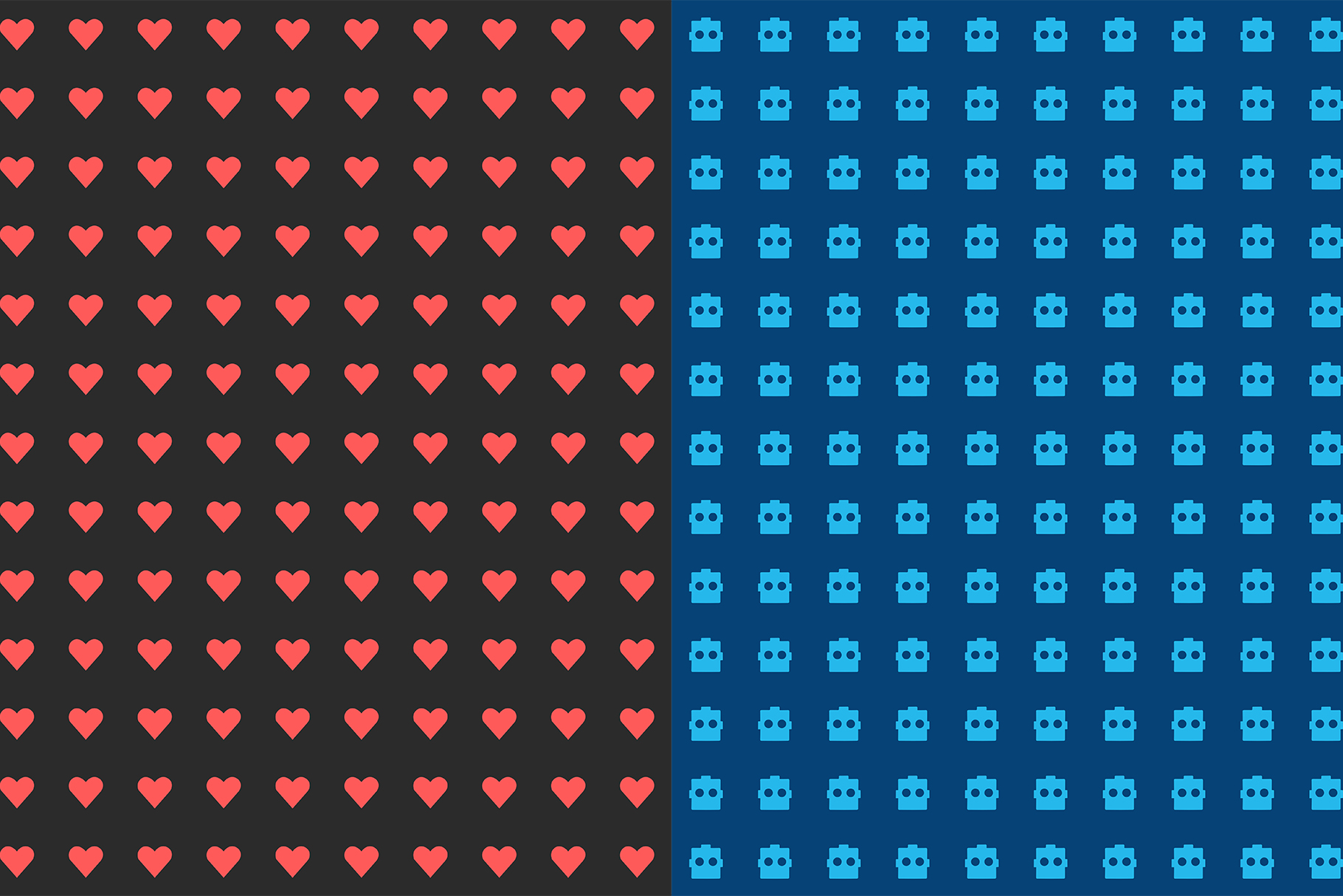10 Love Death Robot Patterns example image 7