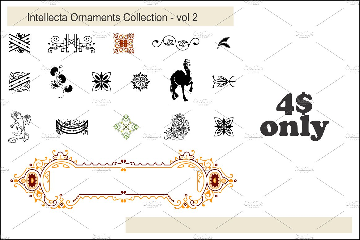 Intellecta Ornaments Collection 2 example image 1