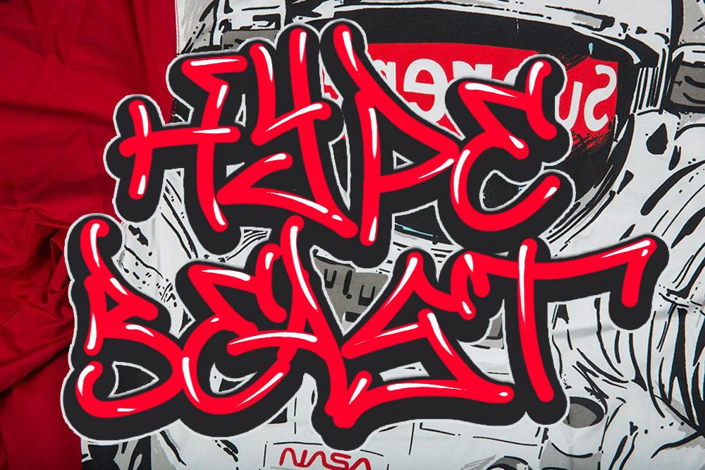 MALAM JUMAT GRAFFITI FONT VOL.4 example image 2