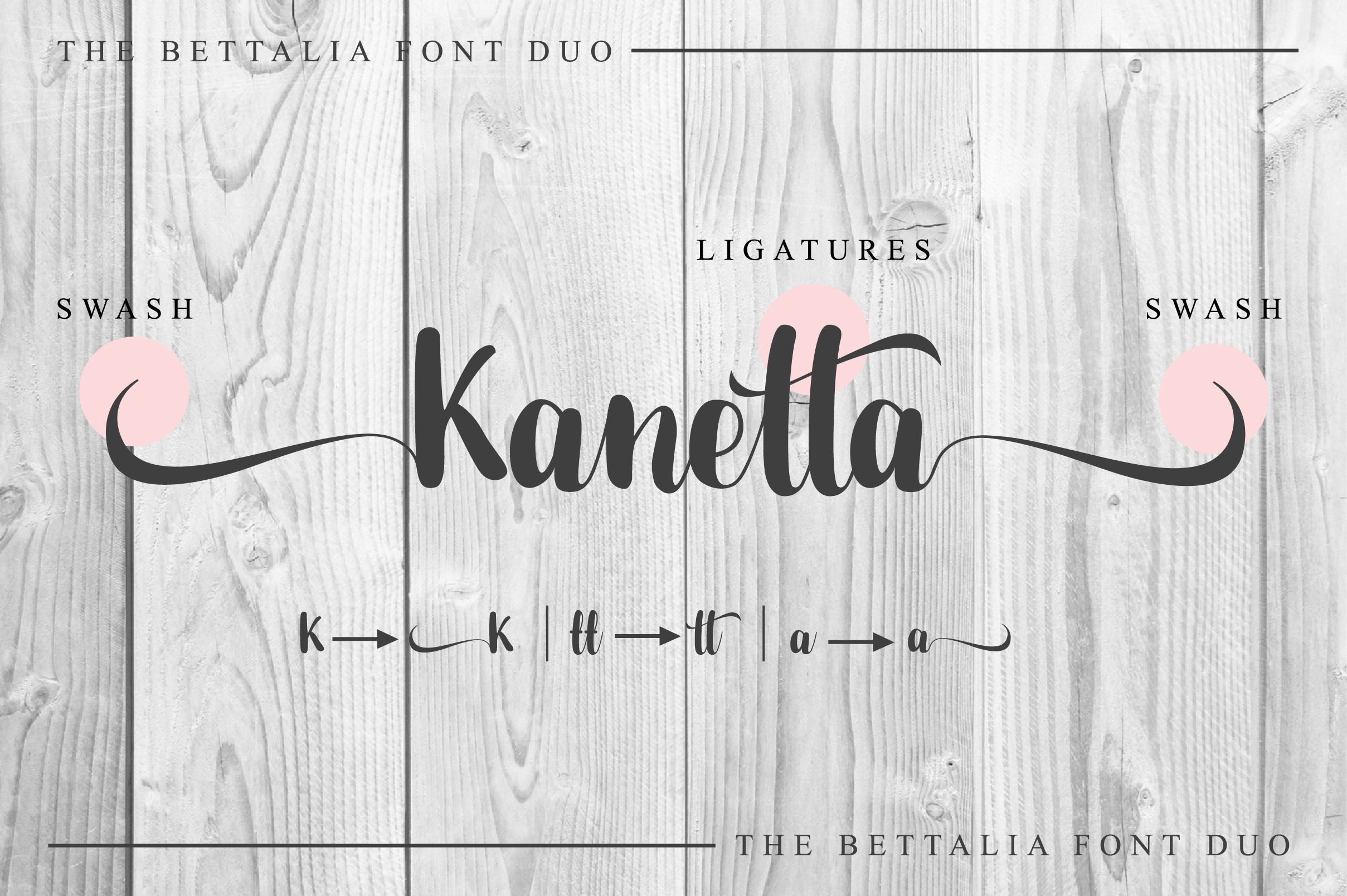 The Bettalia Font Duo example image 4