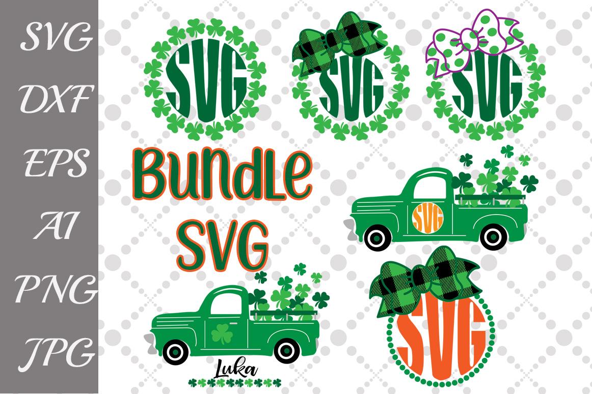 St Patricks Bundle Svg example image 1