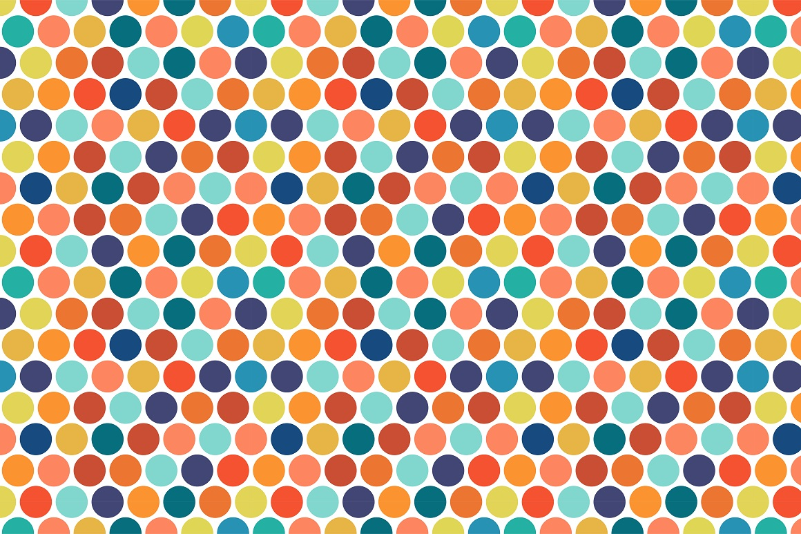 Colorful seamless patterns. example image 14
