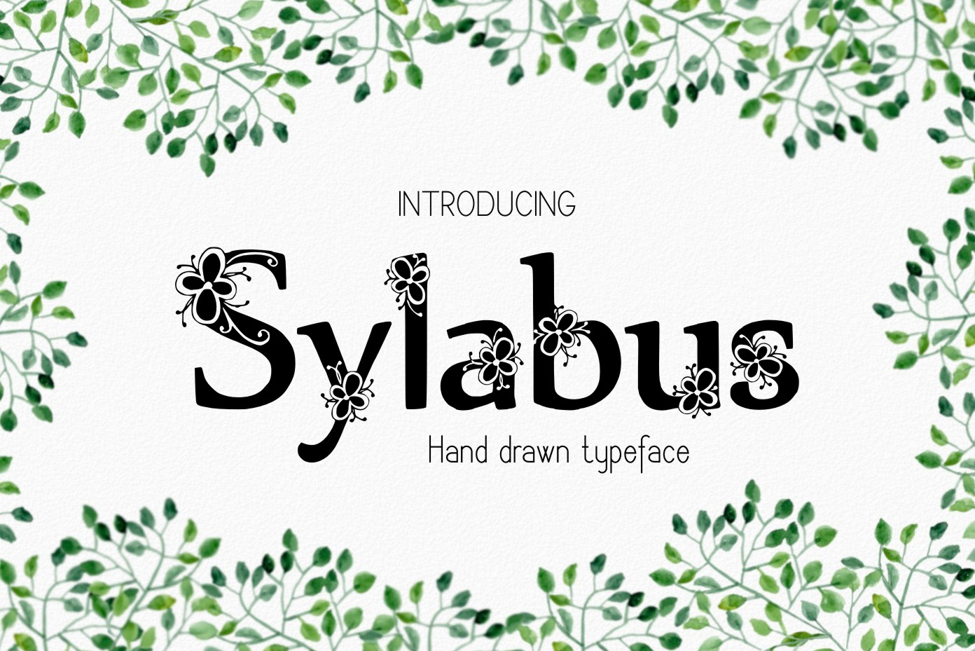 Sylabus font example image 1