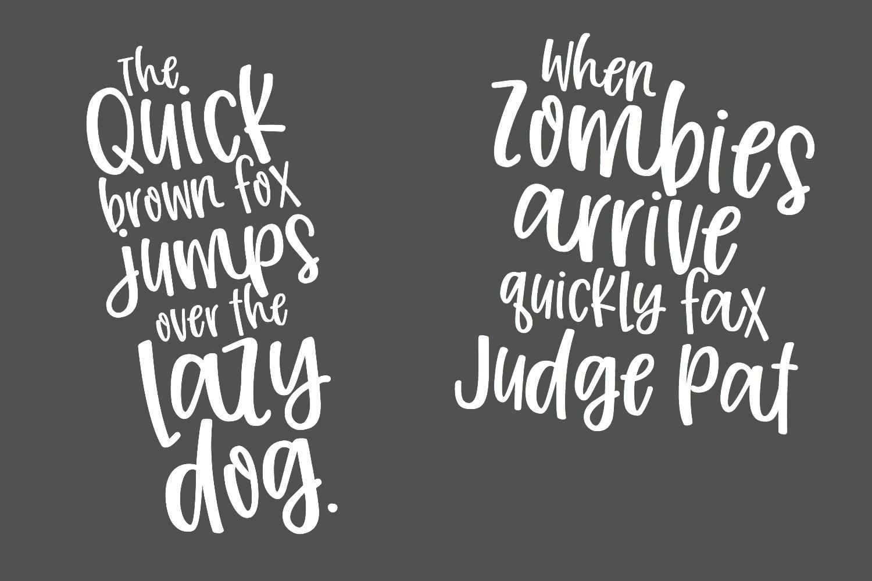 Joyfully Font & Graphics example image 4