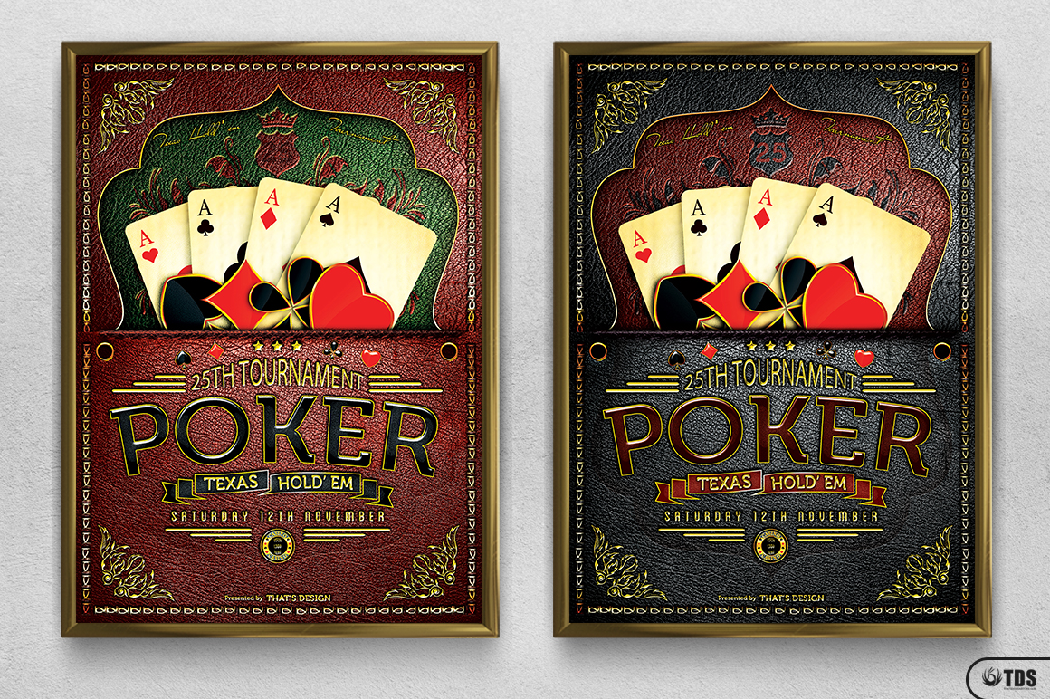 Poker Tournament Flyer Template example image 12
