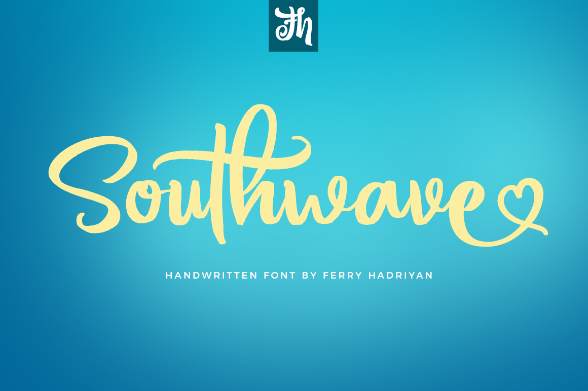 Southwave - Handwritten Font example image 1