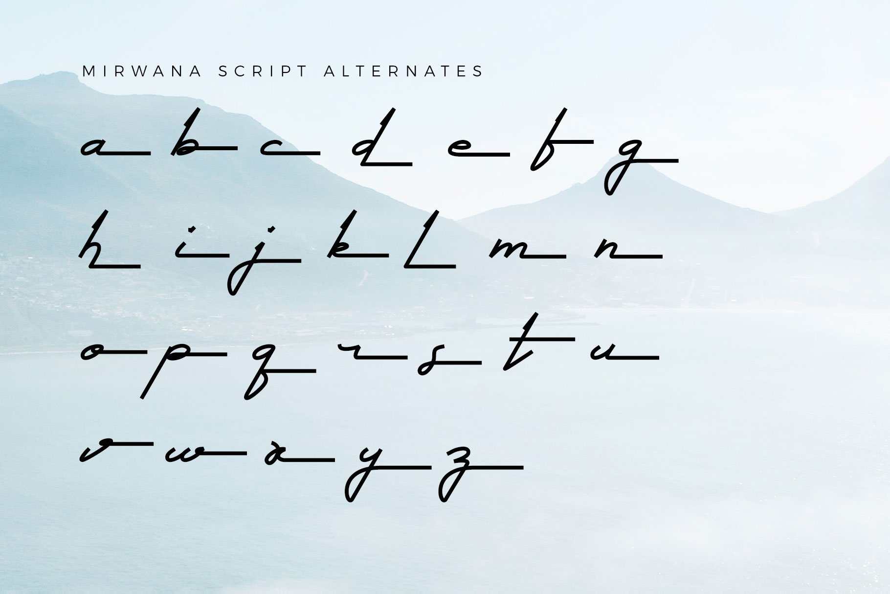 Mirwana Font Duo example image 10