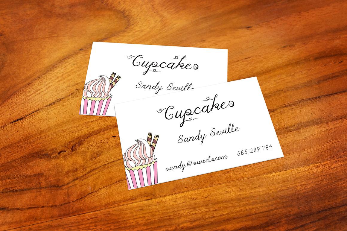 Cupcake Multilingual Script Font example image 5