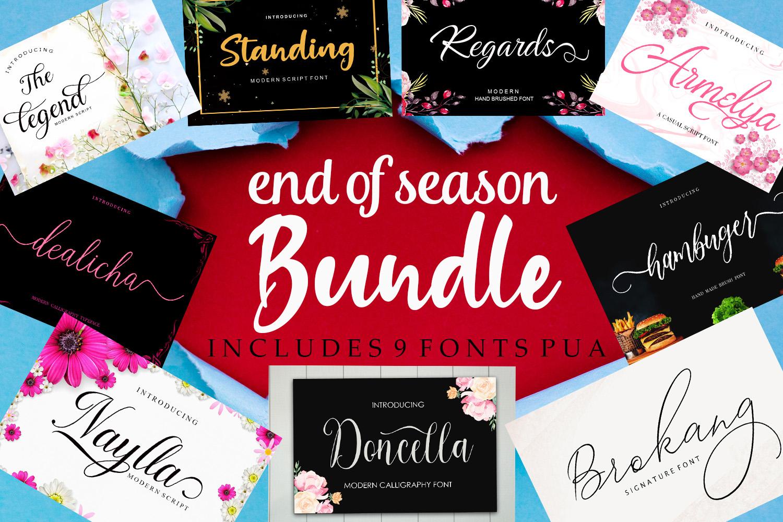 end of season bundle example image 1