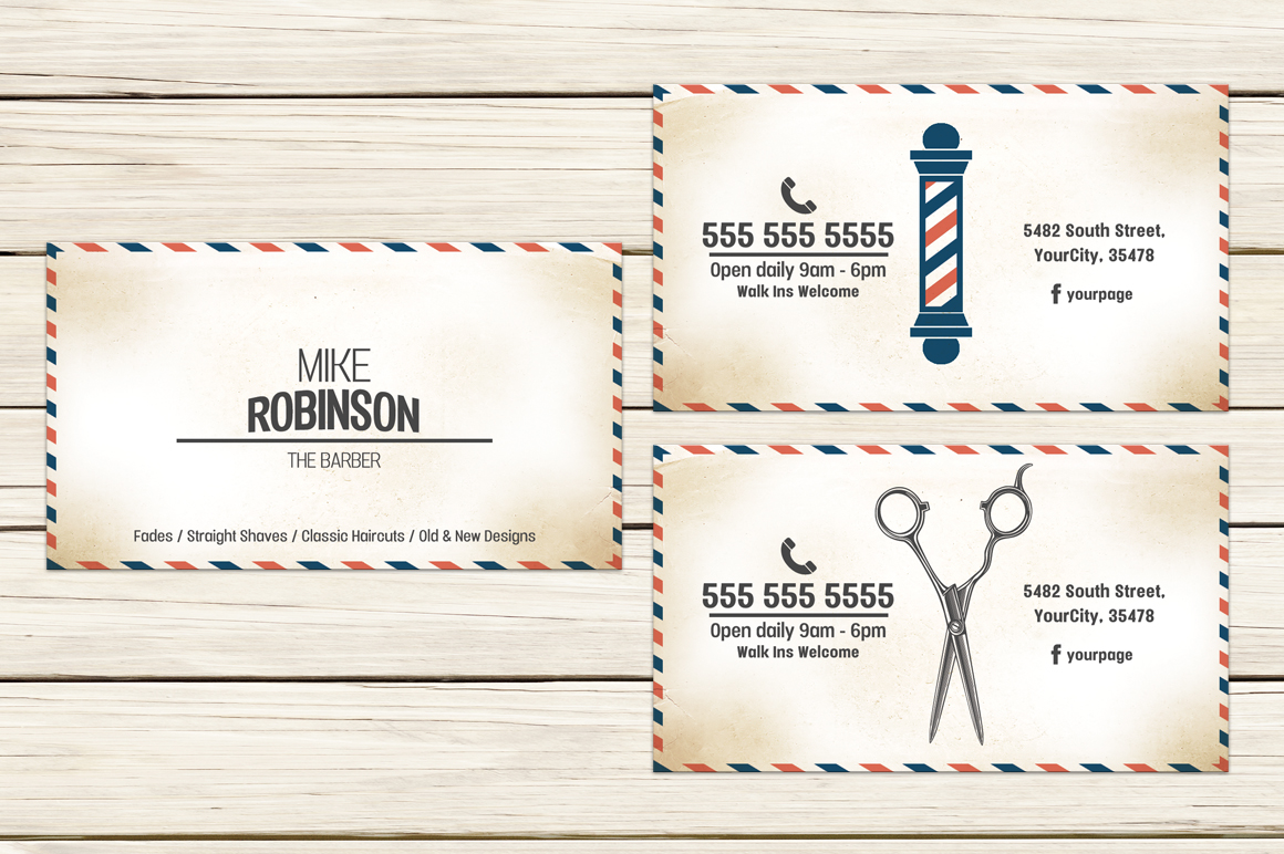 BarberShop Business Card example image 1