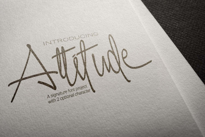 Attitude example image 6
