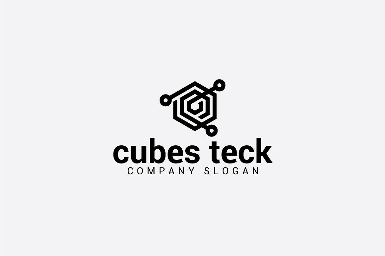 cubes teck logo example image 4