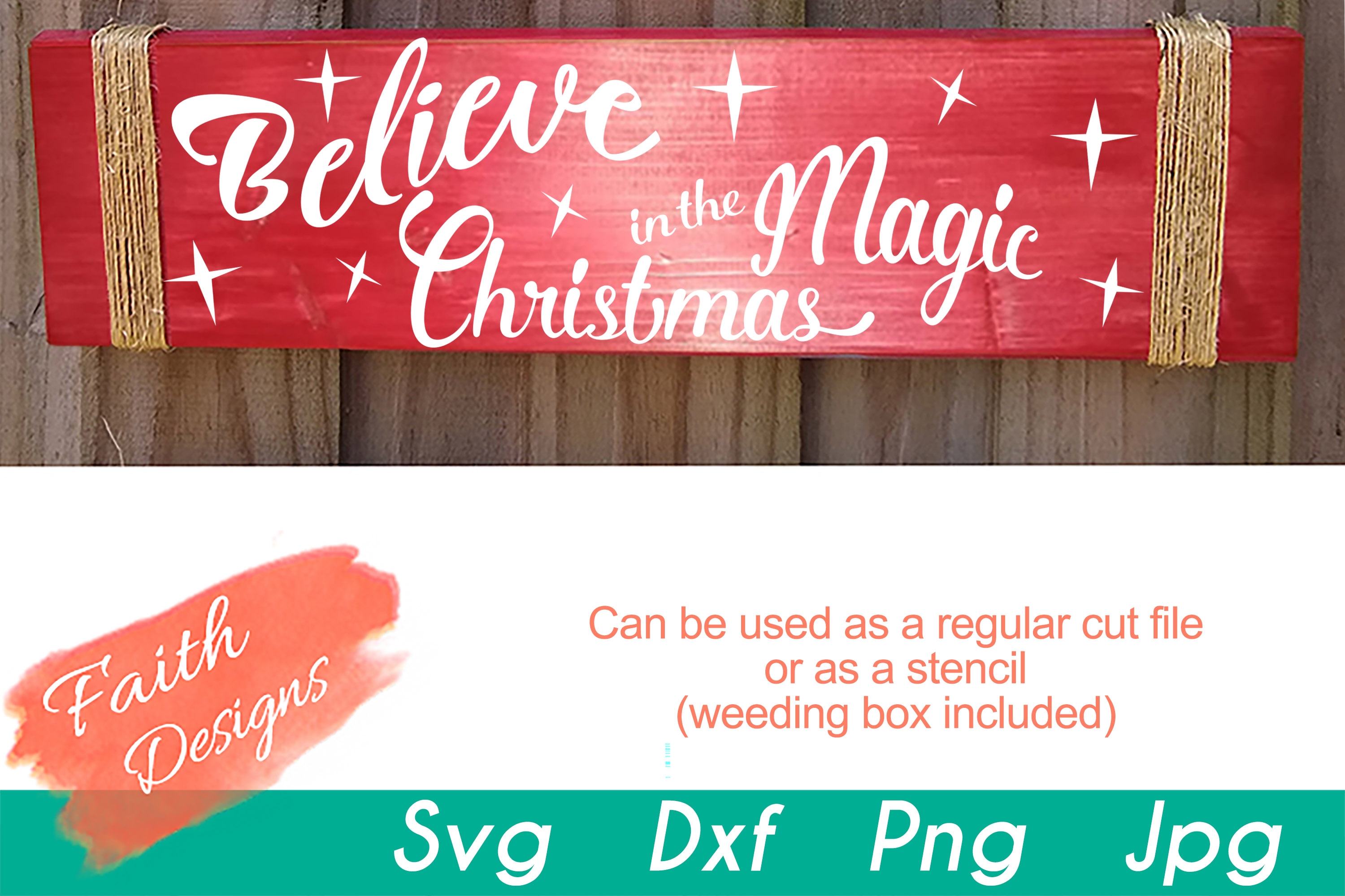 Christmas Porch Sign Bundle example image 3