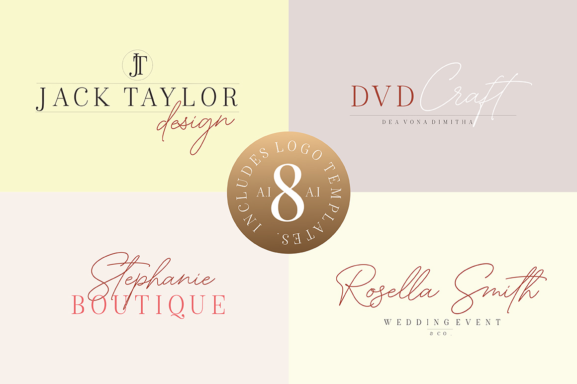 American Favorite - Luxury Font Duo example image 11