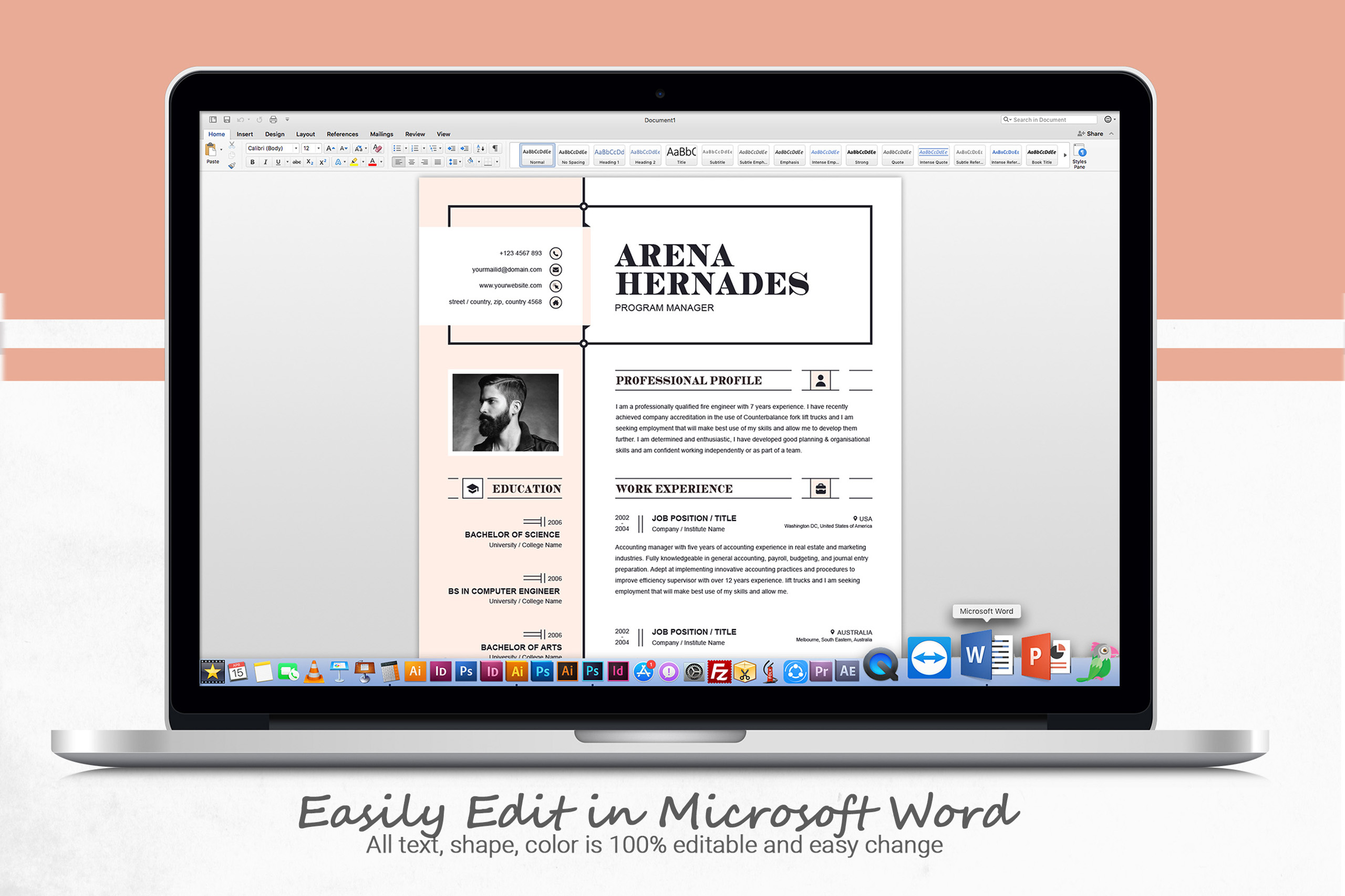 Modern Resume Template example image 5