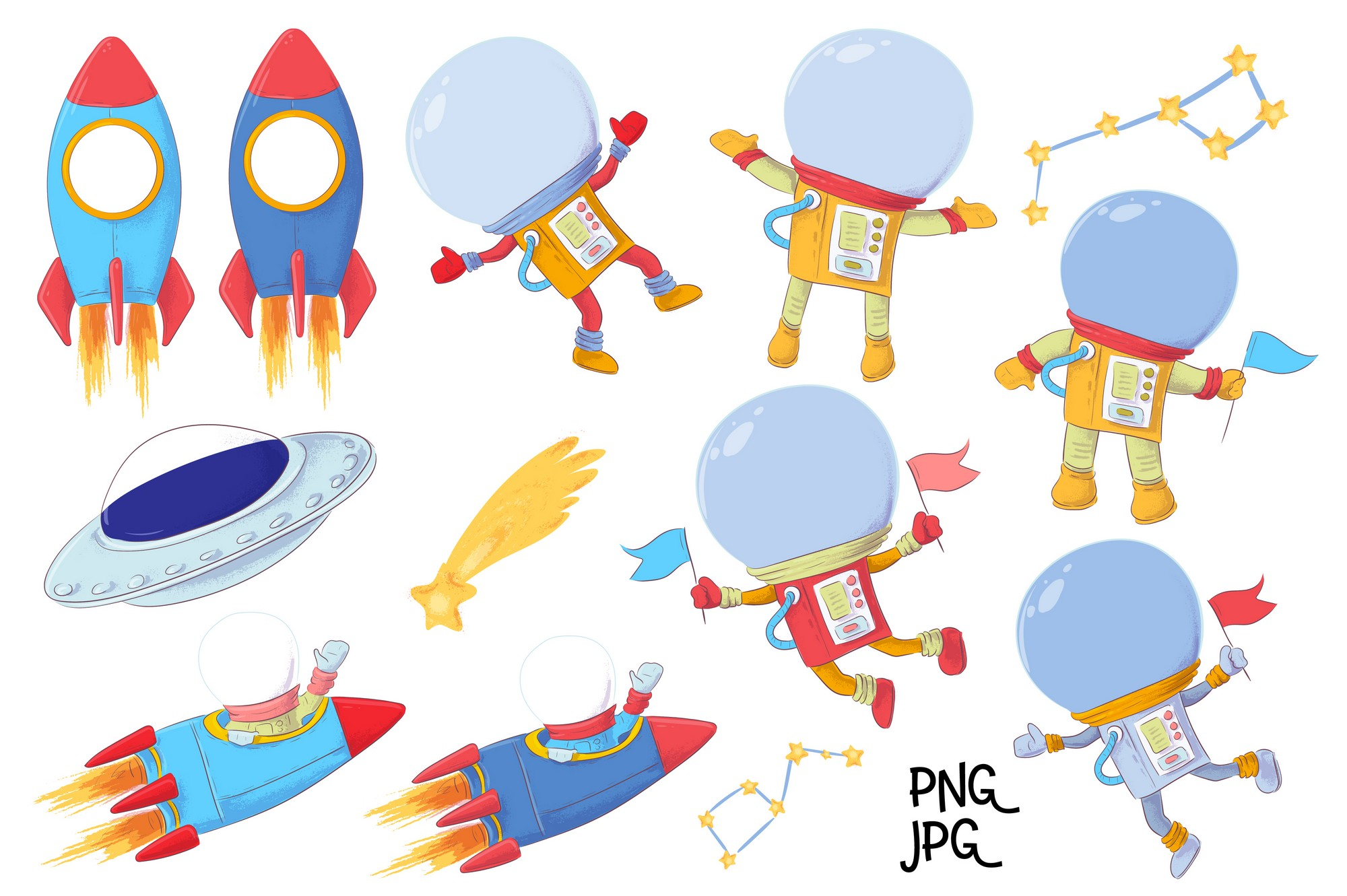 Space vector clip art example image 7