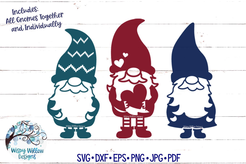 Gnome SVGs | Cute Gnomes SVG Cut File example image 1