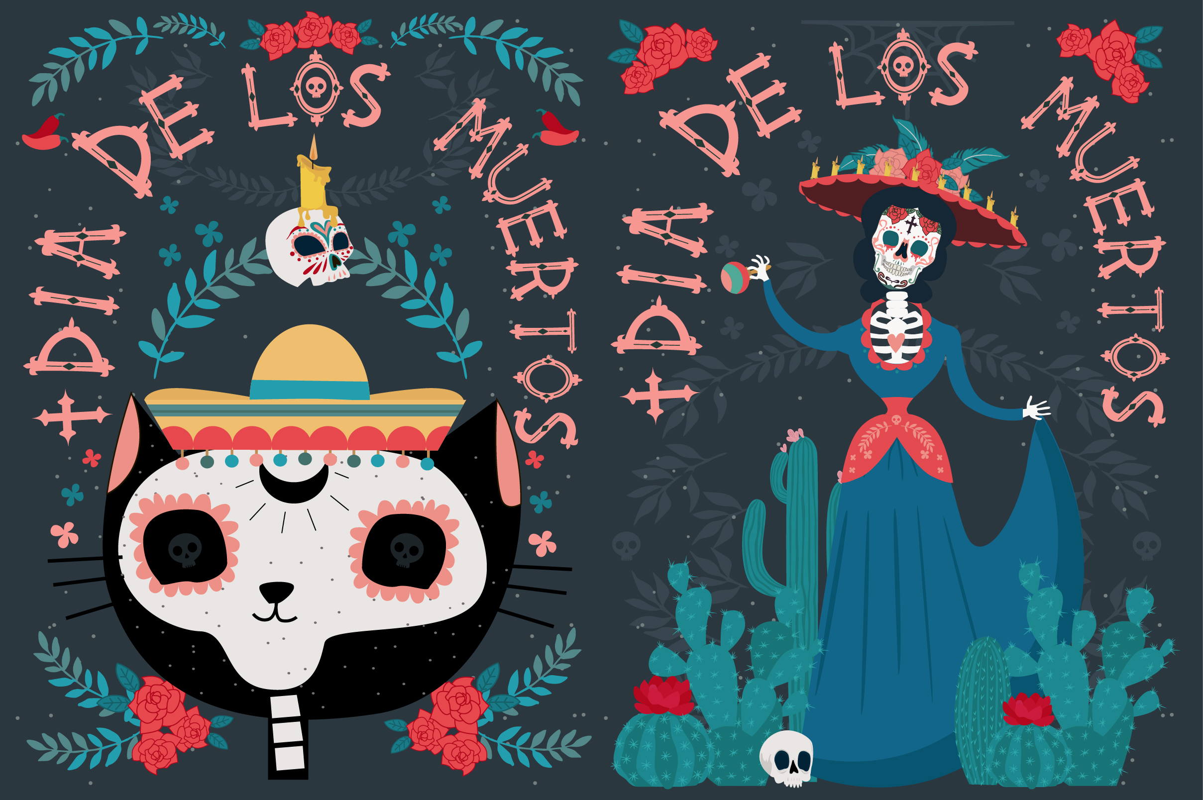 Day of the dead collection example image 4