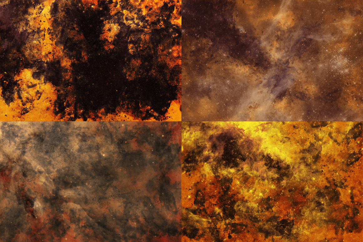 Inked Space (10 Creative Textures) example image 9