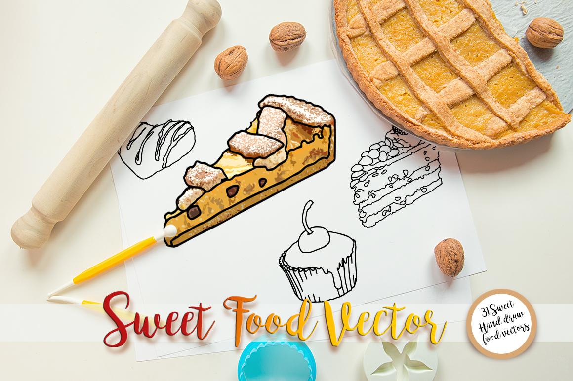 Sweet Food vector example image 5
