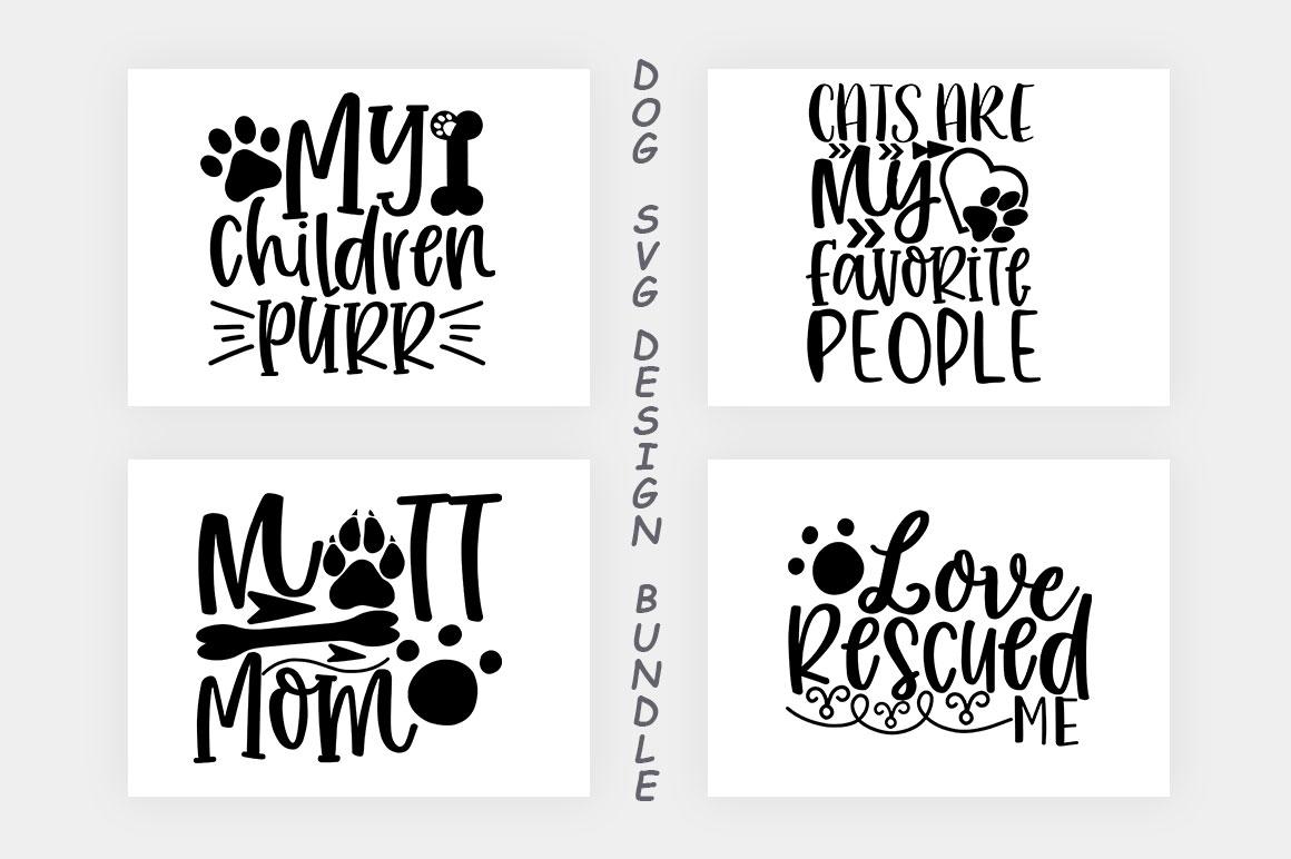 Dog SVG Design Bundle example image 10