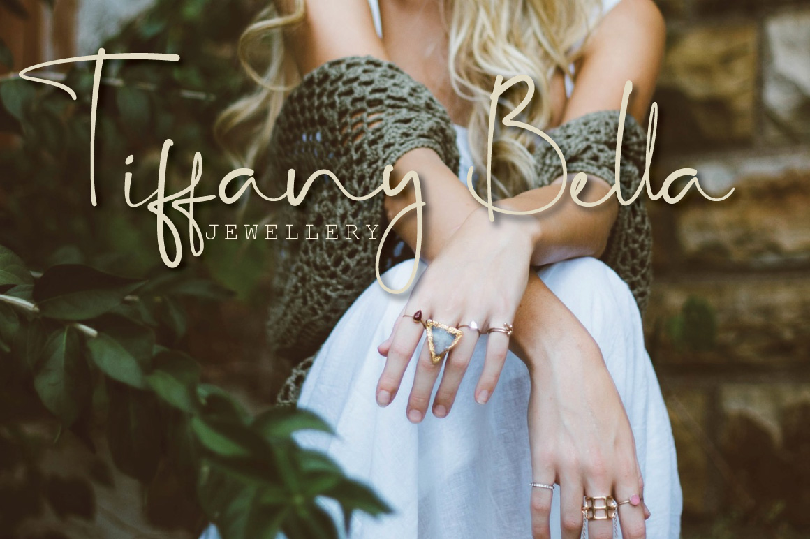Key West Script Font with Extra example image 13