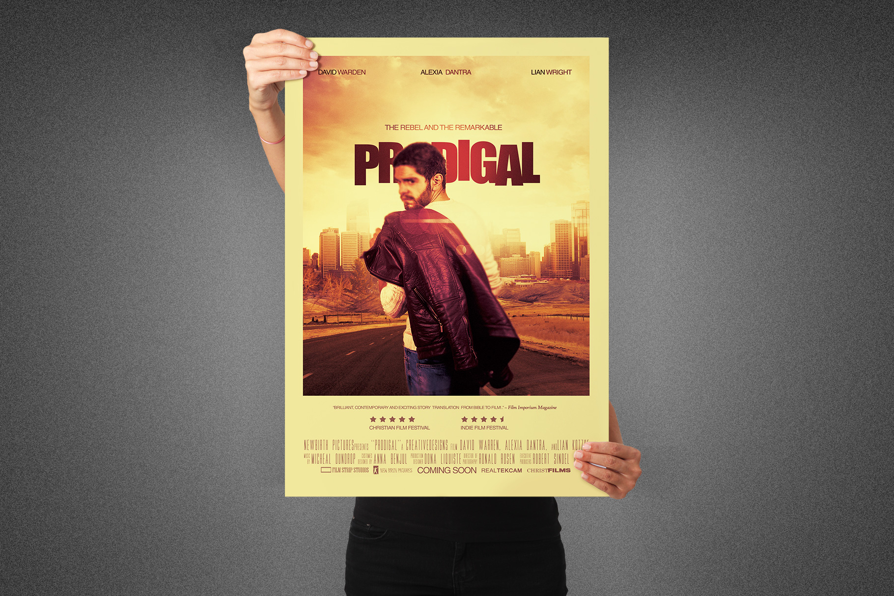 Prodigal Movie Poster Template example image 6