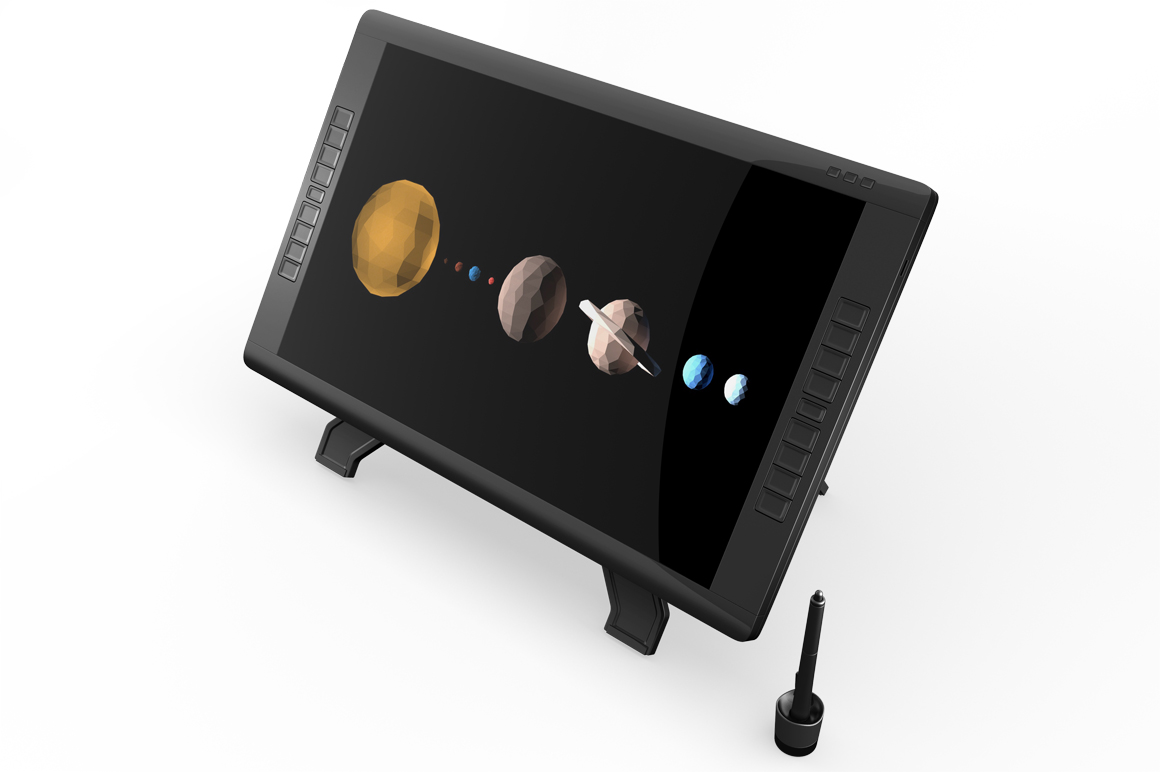 Wacom Graphic Screen Tablet Mockup example image 9