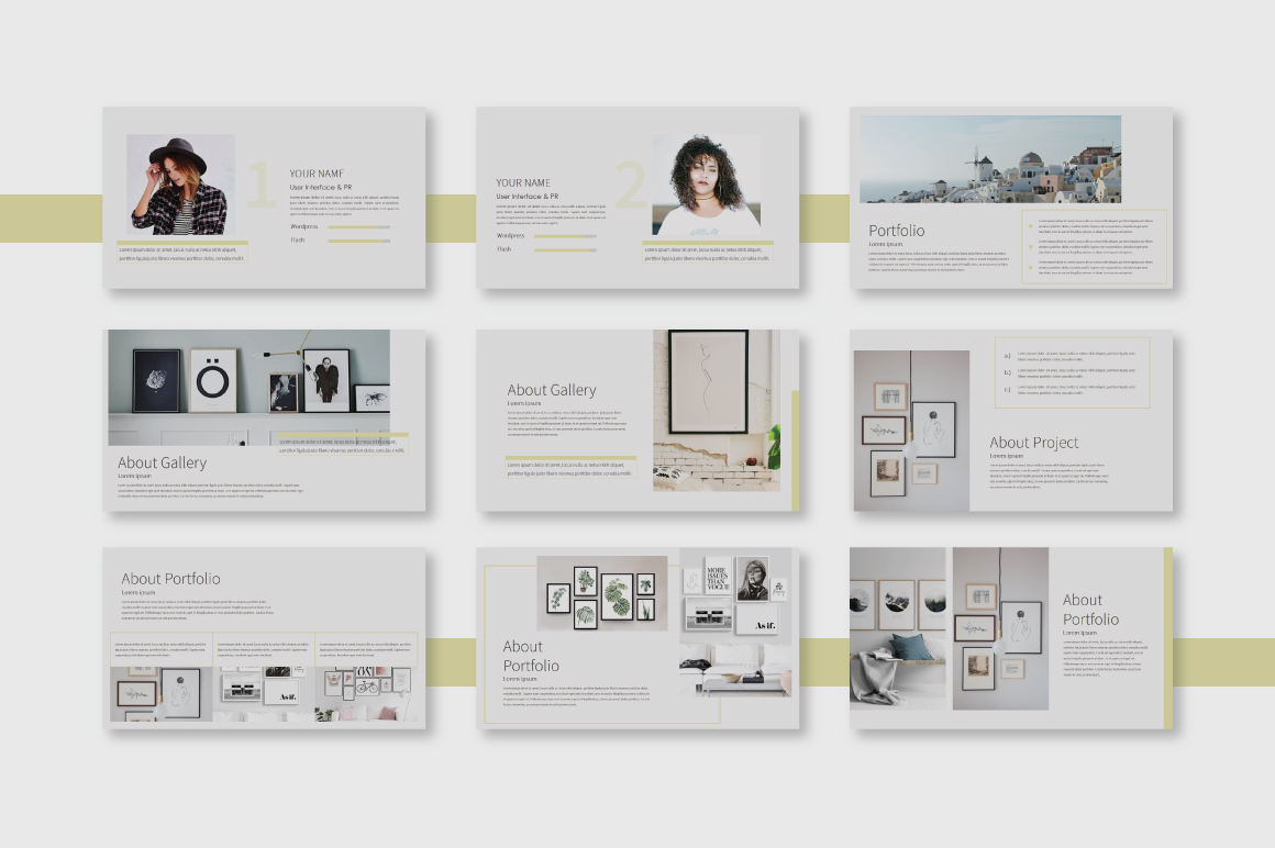 Garie Powerpoint Template example image 3